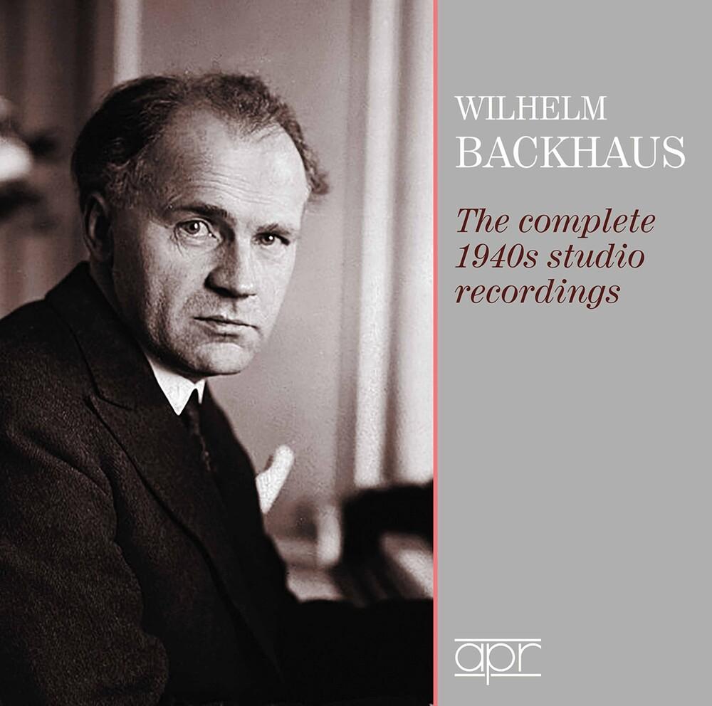 WILHELM BACKHAUS - Complete 1940S Studio Recording