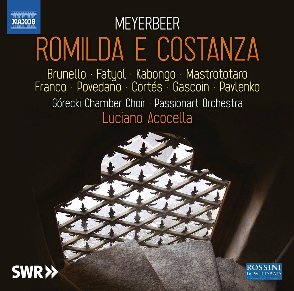 Meyerbeer / Gorecki Chamber Choir / Acocella - Romilda E Costanza