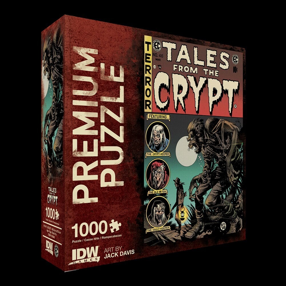 - Tales From The Crypt: Werewolf Premium Puzzle (1000-pc)
