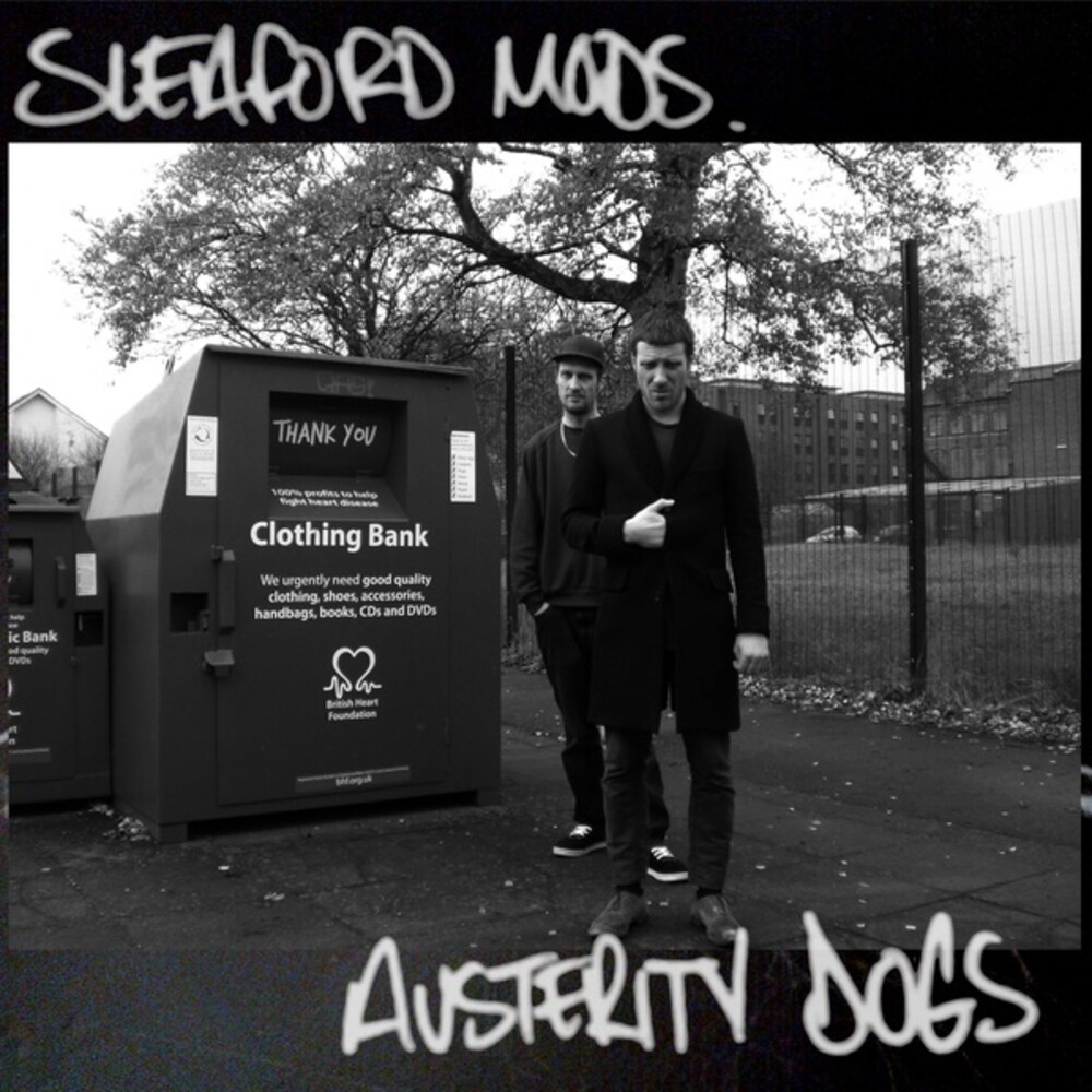 Sleaford Mods - Austerity Dogs [Limited Edition Yellow LP]
