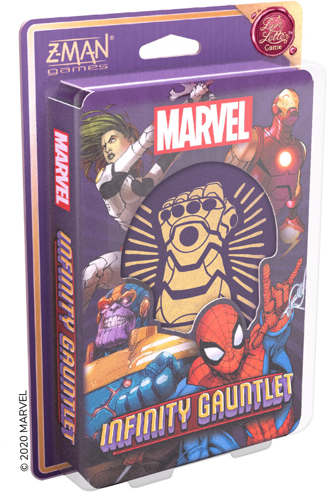Marvel Infinity Gauntlet a Love Letter Game - Marvel Infinity Gauntlet A Love Letter Game