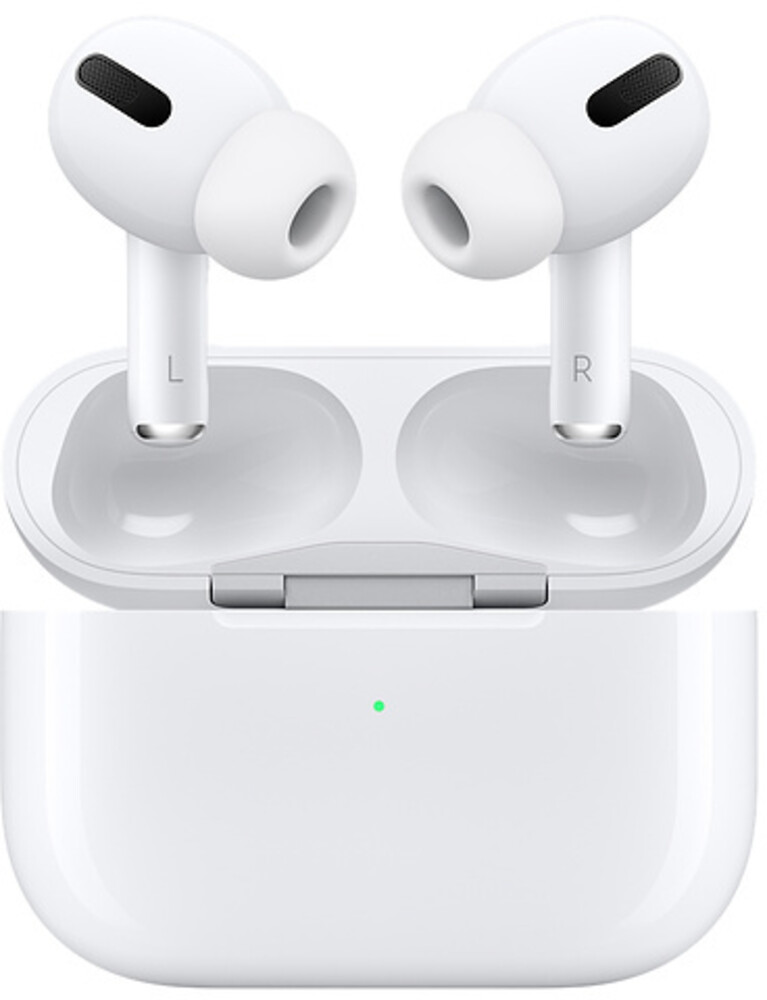 Apple Airpods Pro Bt Erphns Wrls Chrgng Case White - Apple Airpods Pro Bluetooth Wireless Earphones Active Noise CancellingWith Wireless Charging Case (White)