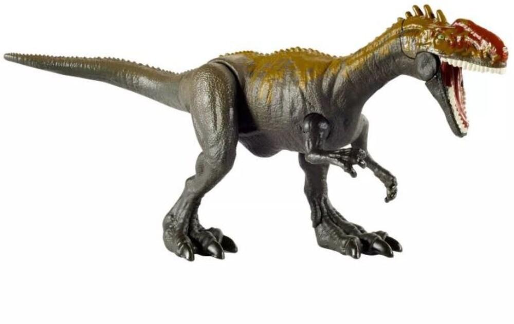 Jurassic World - Mattel - Jurassic World Savage Strike Monolophosaurus, Animation