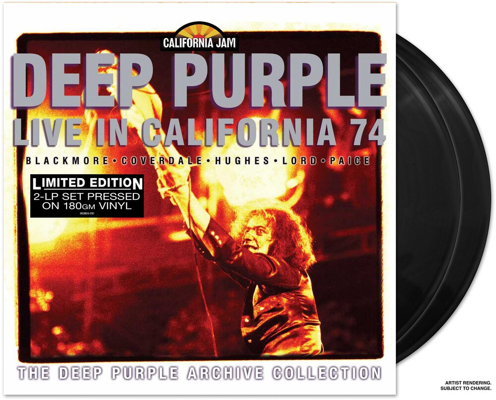 Deep Purple - Cal Jam - Live In California 74 [Limited Edition]
