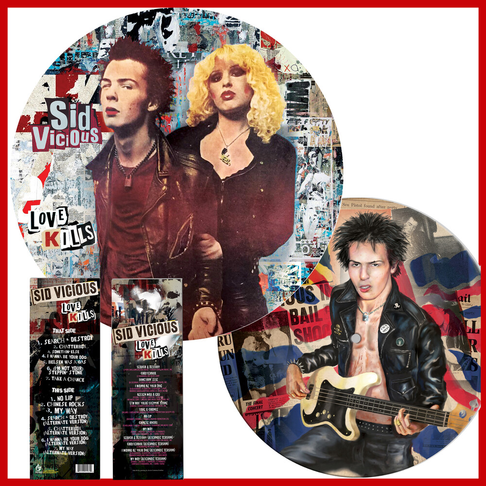Sid Vicious - Love Kills (Picture Disc Vinyl) (Pict)