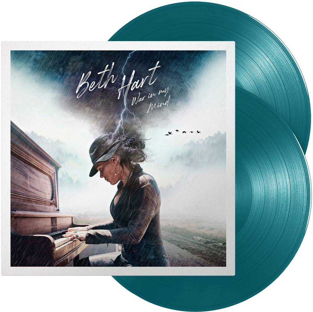 Beth Hart - War In My Mind [Blue & Green Colored Vinyl]