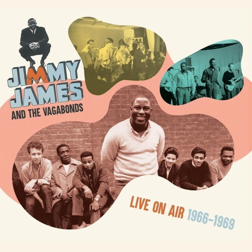 Jimmy James  / Vagabonds - Live On Air 1966-1969