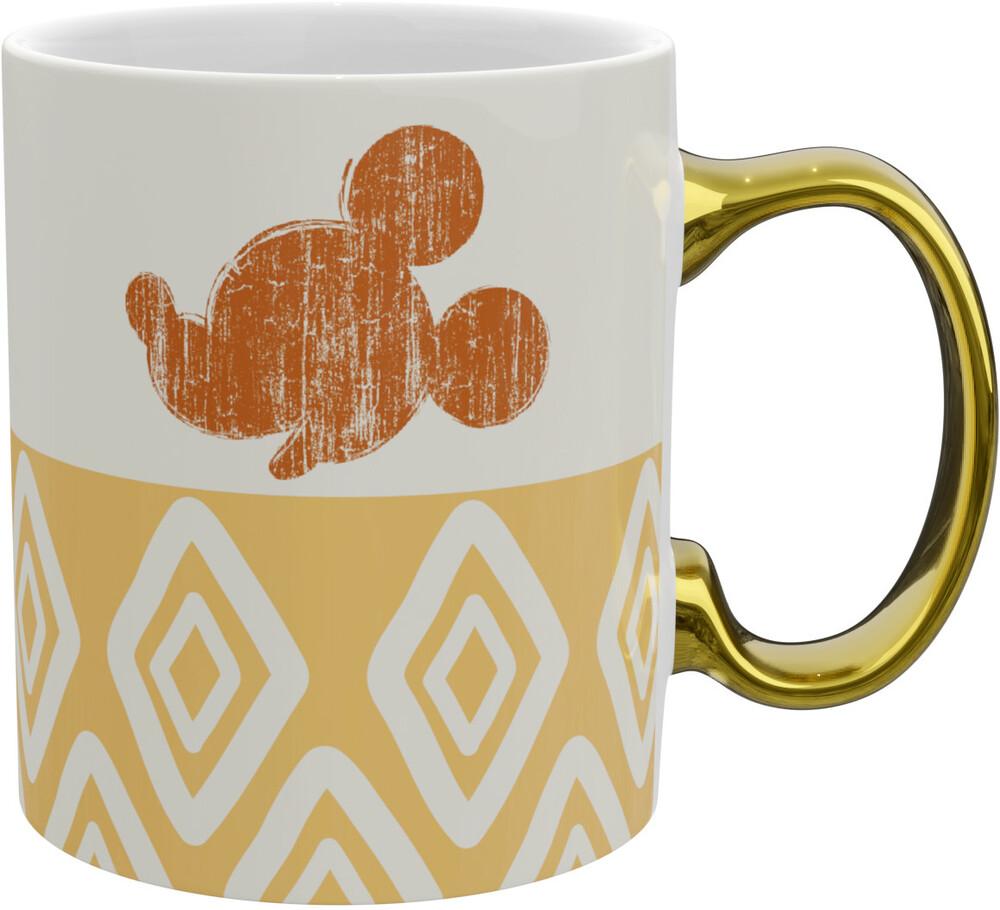 - Disney Mickey Gold Handle Mug (11 Oz) (Mug)