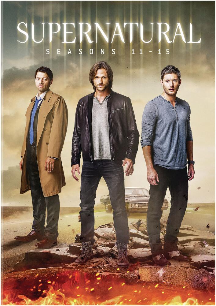 - Supernatural: Seasons 11-15 (27pc) / (Box Slip)