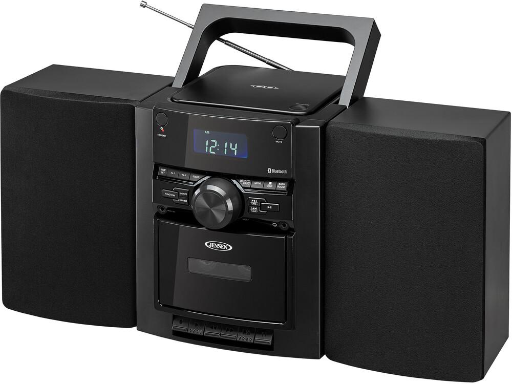 Jensen CD785 Bt Music System CD Cassette Am/Fm Blk - Jensen Cd785 Bt Music System Cd Cassette Am/Fm Blk