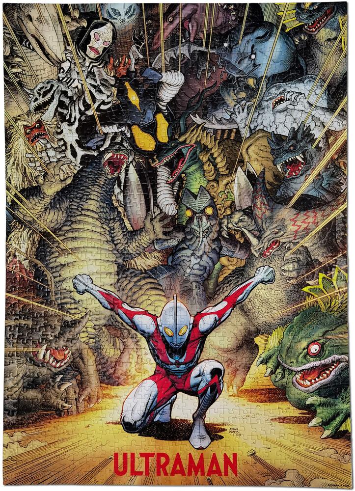 Ultraman Rise of Ultraman Cover Art Jigsaw Puzzle - Ultraman Rise Of Ultraman Cover Art Jigsaw Puzzle