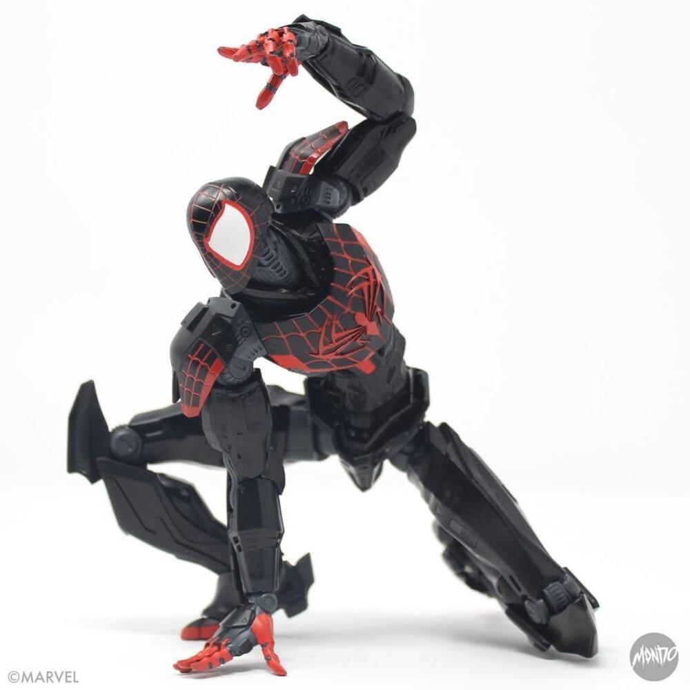 - Sdcc 2021 Mecha Marvel Spider-Man Miles Morales Af