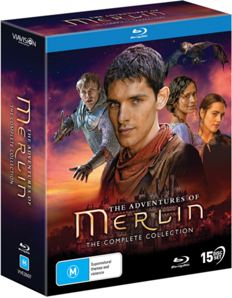 - Adventures Of Merlin: The Complete Collection [All-Region/1090p]