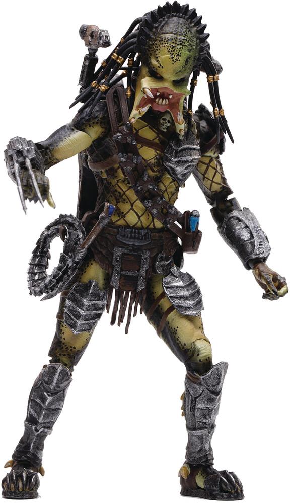 - Avp 2 Unmasked Wolf Predator Px 1/18 Scale Figure