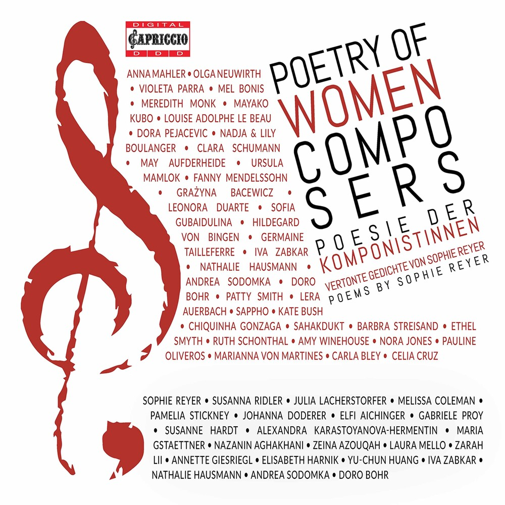 Poetry Of Woman Composers / Various (2pk) - Poetry Of Woman Composers / Various (2pk)