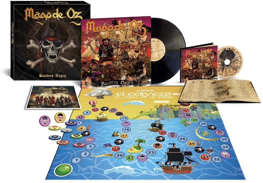 Mago De Oz - Bandera Negra (W/Cd) (Box) [Deluxe] (Spa)