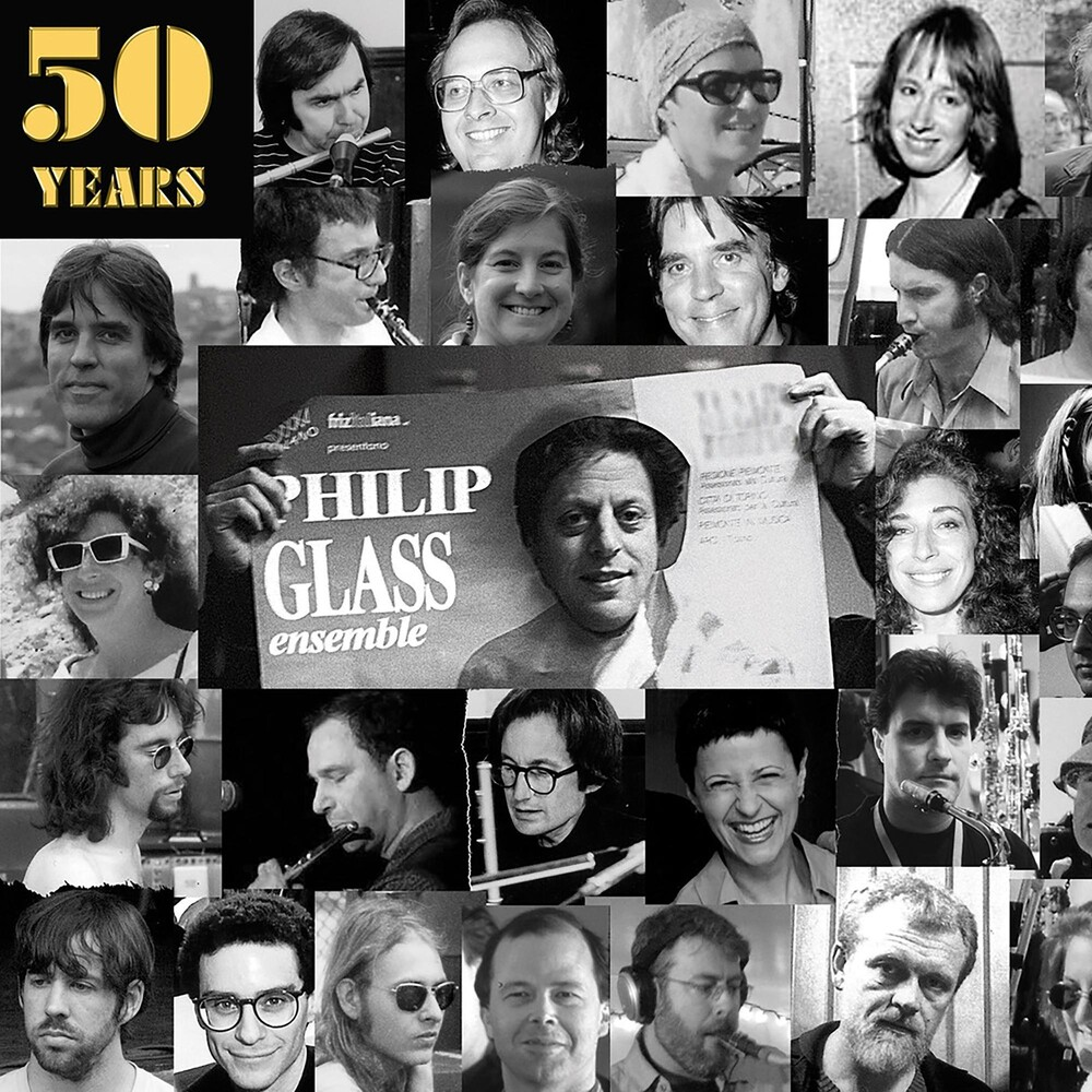 Philip Glass - 50 Years Of The Philip Glass Ensemble