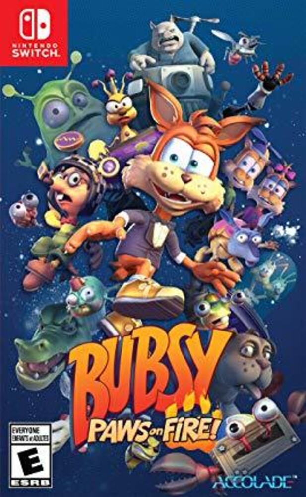 Swi Bubsy: Paws on Fire! - Bubsy: Paws On Fire!