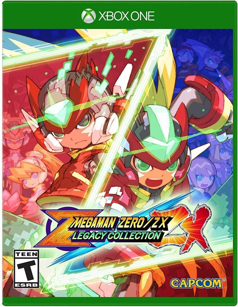 Xb1 Mega Man Zero/Zx Legacy Collection - Mega Man Zero/Zx Legacy Collection