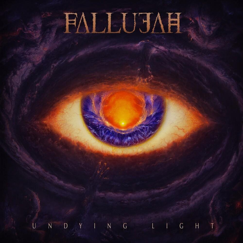 Fallujah - Undying Light (Orange/White Splatter)