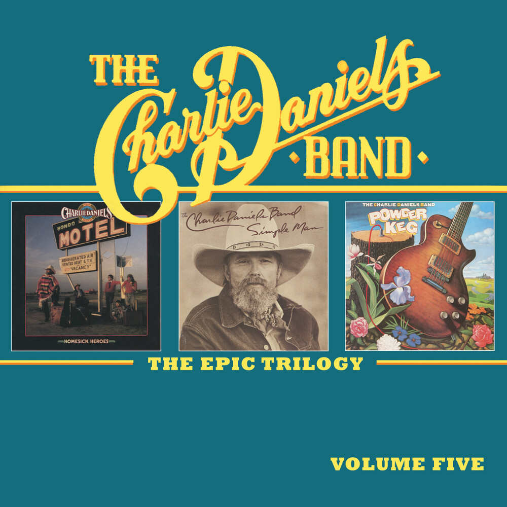 Charlie Daniels - Epic Trilogy Vol 5 (Uk)