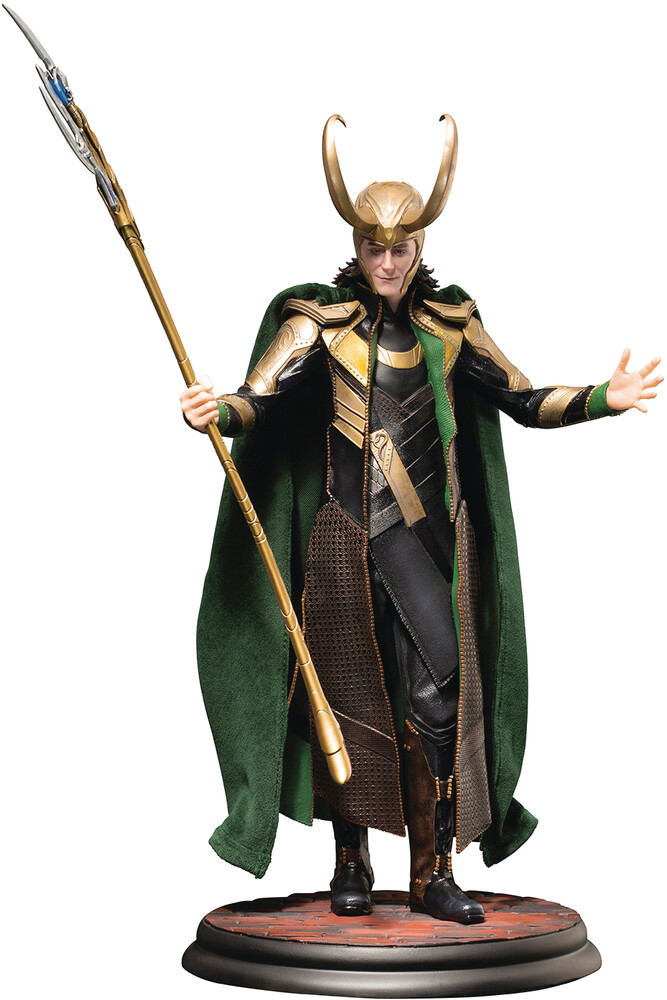 Marvel Avengers Movie - Loki Artfx Statue - Kotobukiya - Marvel Avengers Movie - Loki Artfx Statue