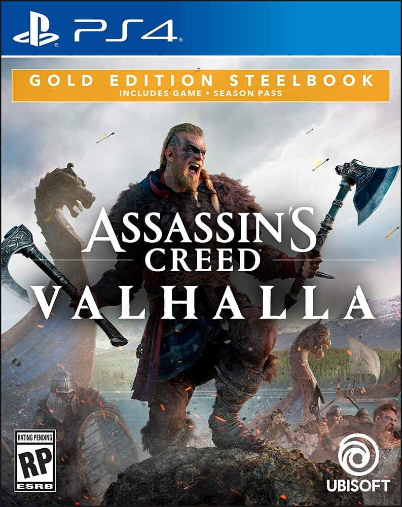 - Ps4 Assassin's Creed Valhalla Steelbook Gold Ed