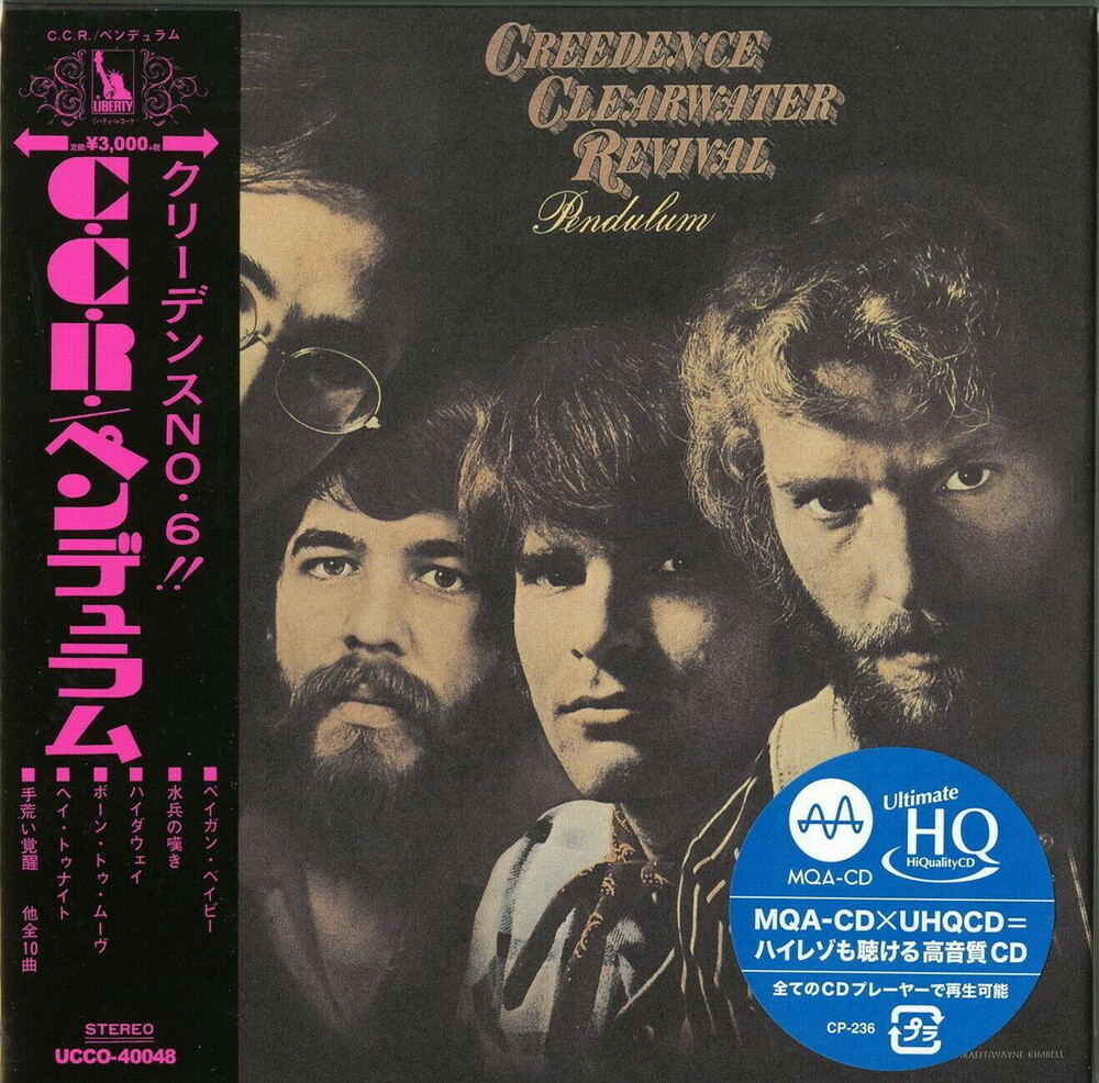 Ccr Creedence Clearwater Revival - Pendulum (Jmlp) [Limited Edition] (Hqcd) (Jpn)