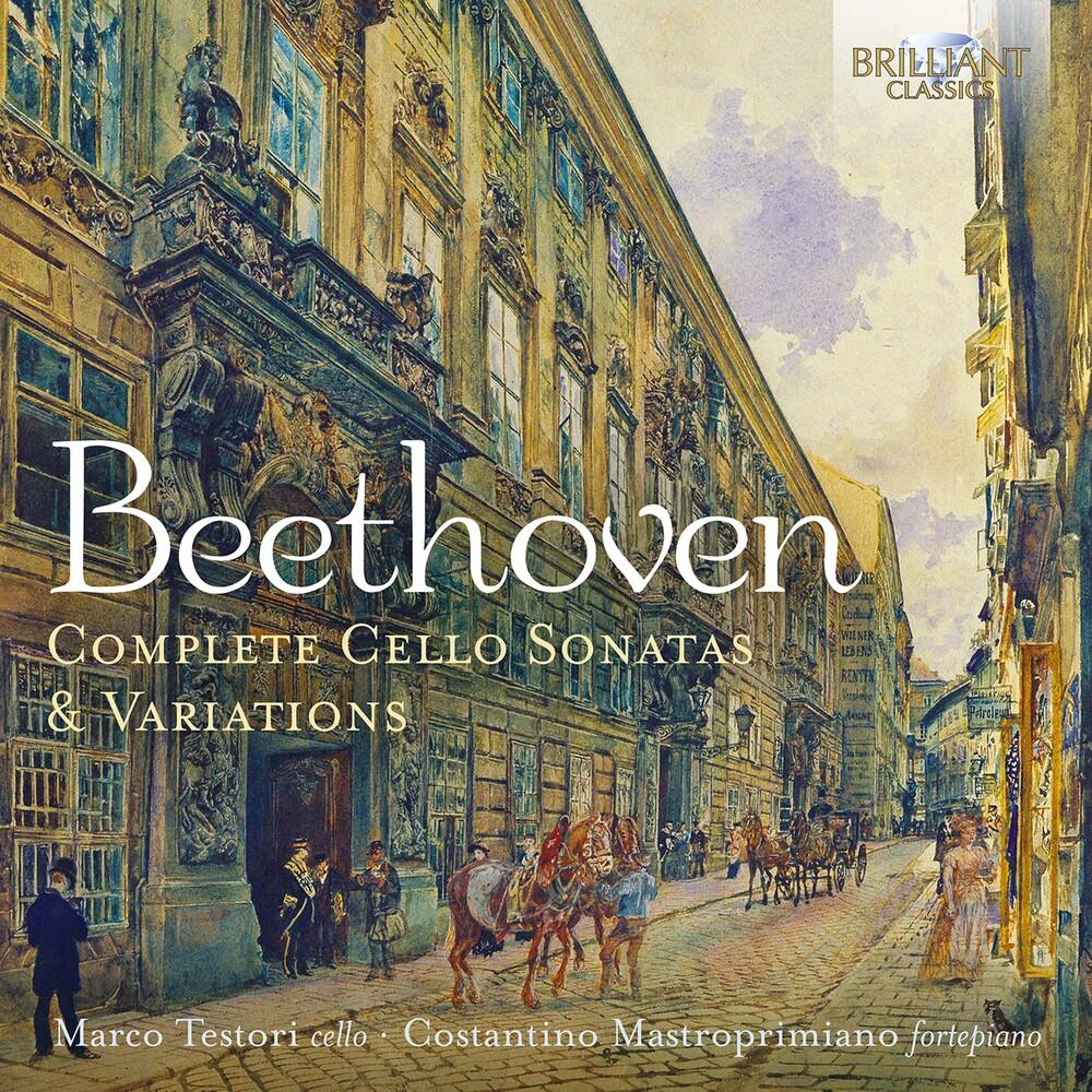Beethoven / Testori / Mastroprimiano - Complete Cello Sonatas