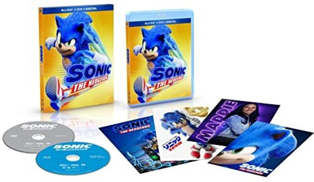 Sonic The Hedgehog - Sonic The Hedgehog (2pc) / (Spec 2pk Ac3 Digc Dol)