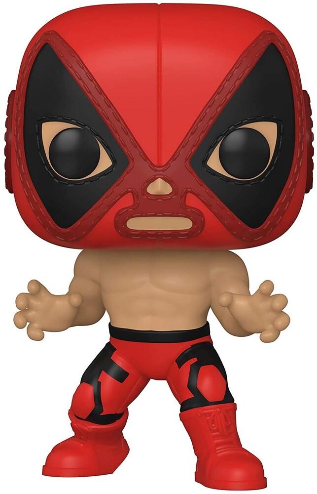 Funko Pop! Marvel: - FUNKO POP! MARVEL: Luchadores- Deadpool
