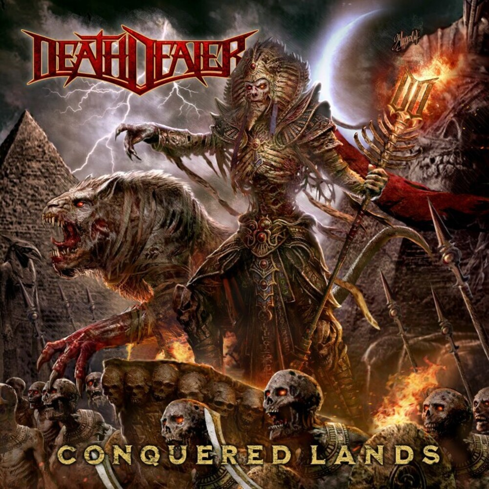 Death Dealer - Conquered Lands (Red Vinyl) (Gate) [Limited Edition] (Red)