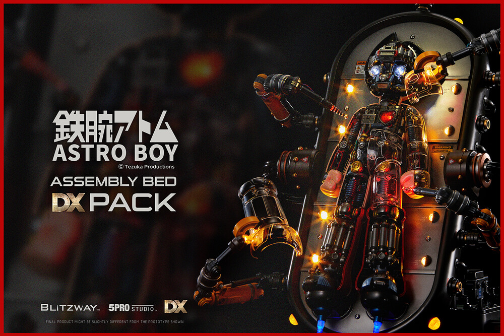 - Blitzway - Astro Boy Assembly Bed DX Pack (Clear Version + AssemblyBed Pack), Blitzway Superb Anime Statue (Non Scale)