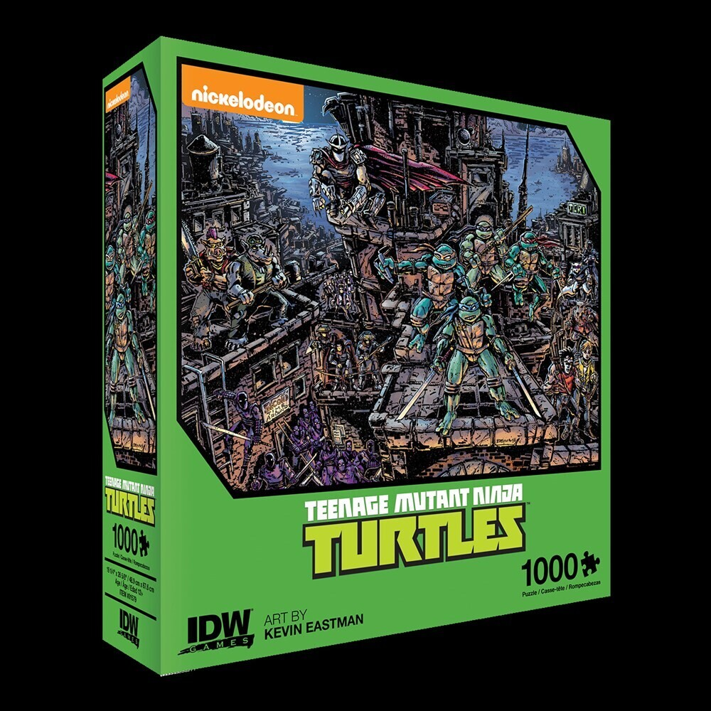 - Teenage Mutant Ninja Turtles Universe Premium Puzzle (1000-pc)(Nickelodeon)