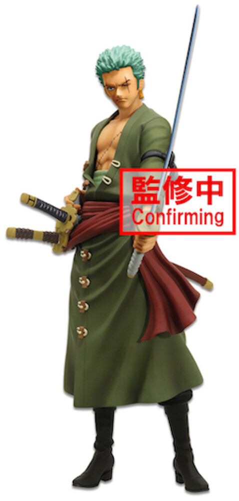 Banpresto - BanPresto - One Piece Roronoa Zoro Grandista nero Figure