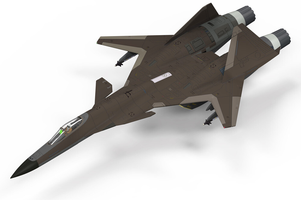 Ace Combat - Adfx-01 [for Modelers Edition] - Kotobukiya - Ace Combat - ADFX-01 [for Modelers Edition]
