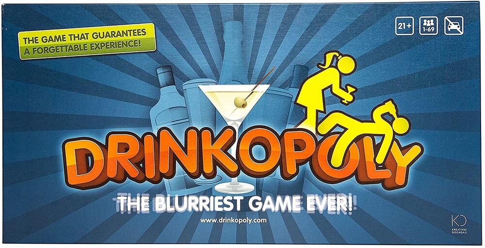 Drinkopoly the Blurriest Game Ever! - Drinkopoly The Blurriest Game Ever!
