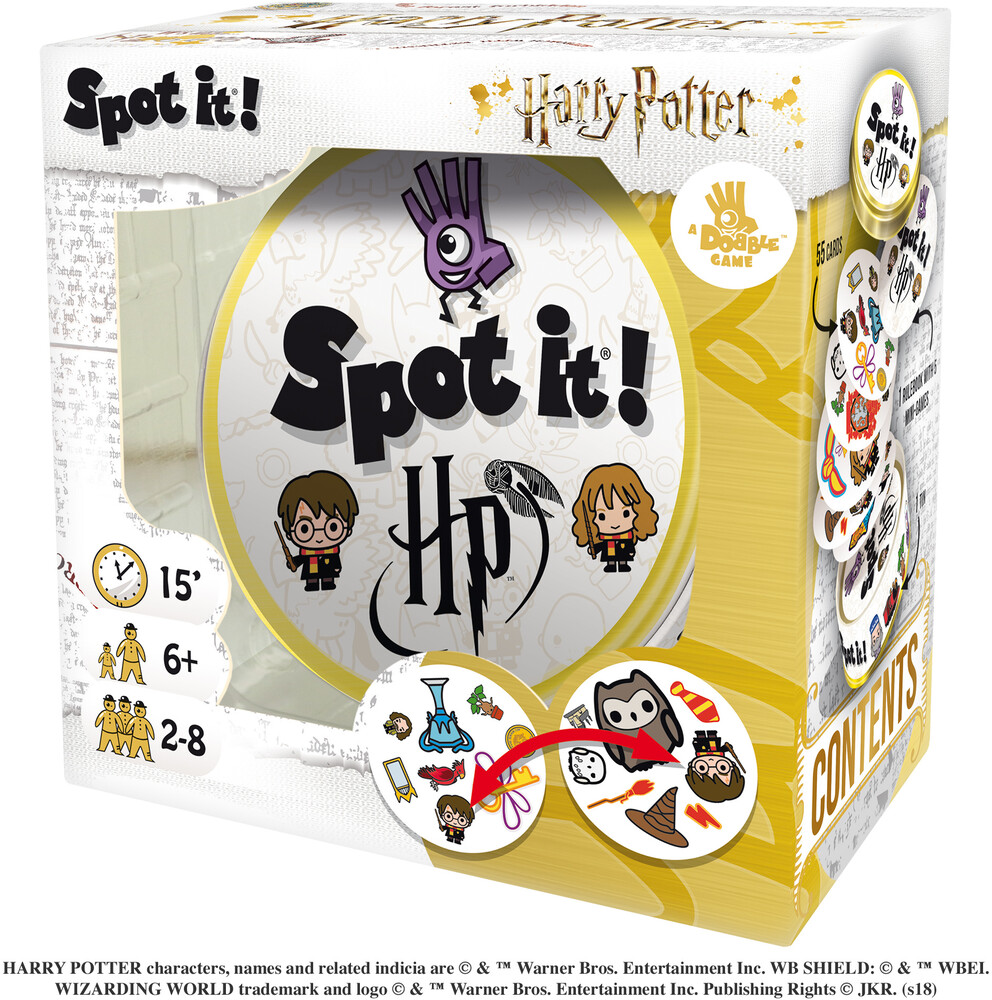 Spot It: Harry Potter (Box) - Spot It: Harry Potter (Box)