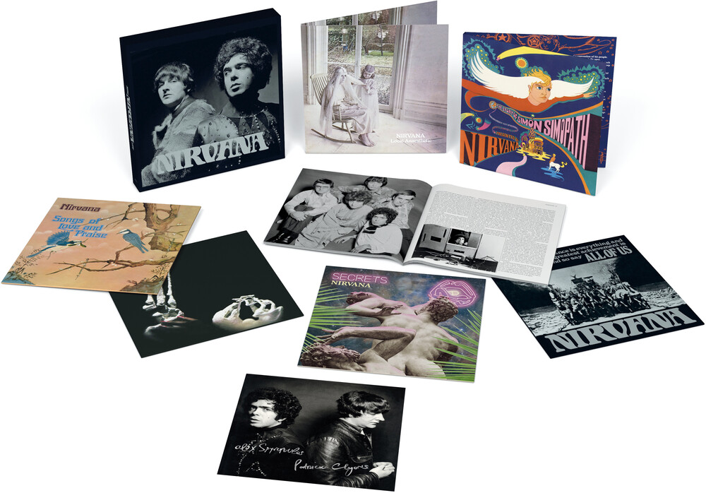 Nirvana UK - Songlife: Vinyl Box Set 1967-1972 (Ltd 6LP Set, 52pg Book & Signed Print)