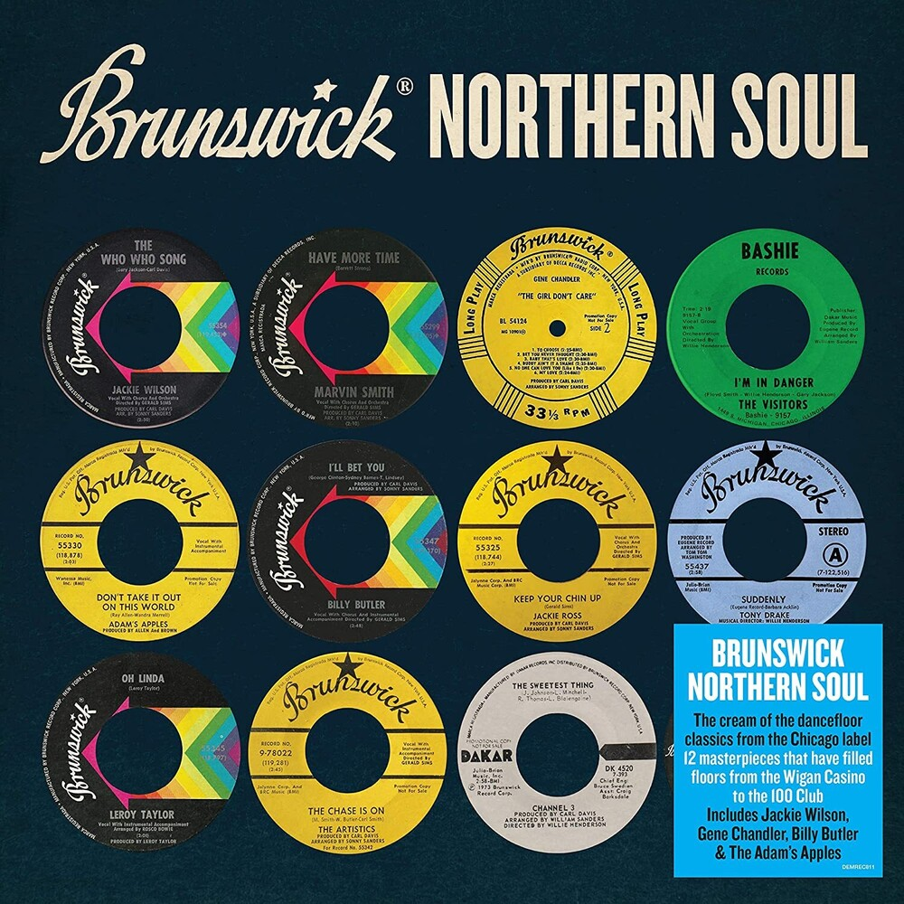Brunswick Northern Soul / Various - Brunswick Northern Soul / Various [140-Gram Black Vinyl]