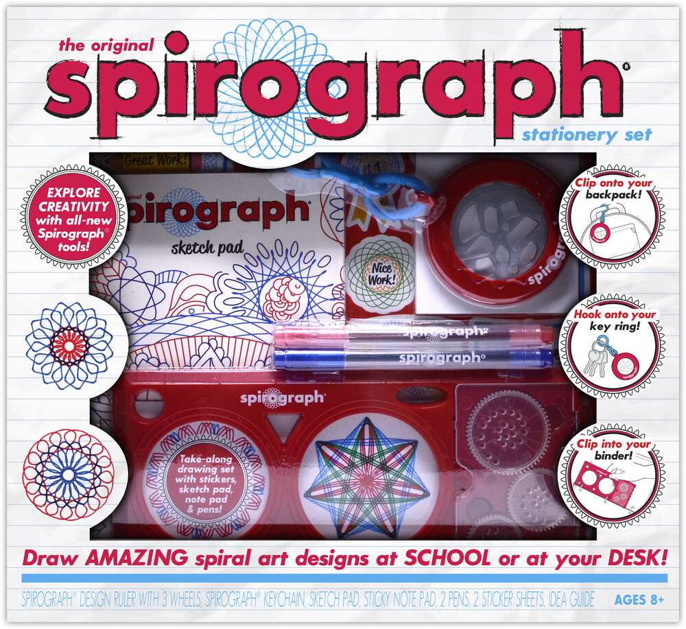 Original Spirograph Stationery Set - The Original Spirograph Stationery Set