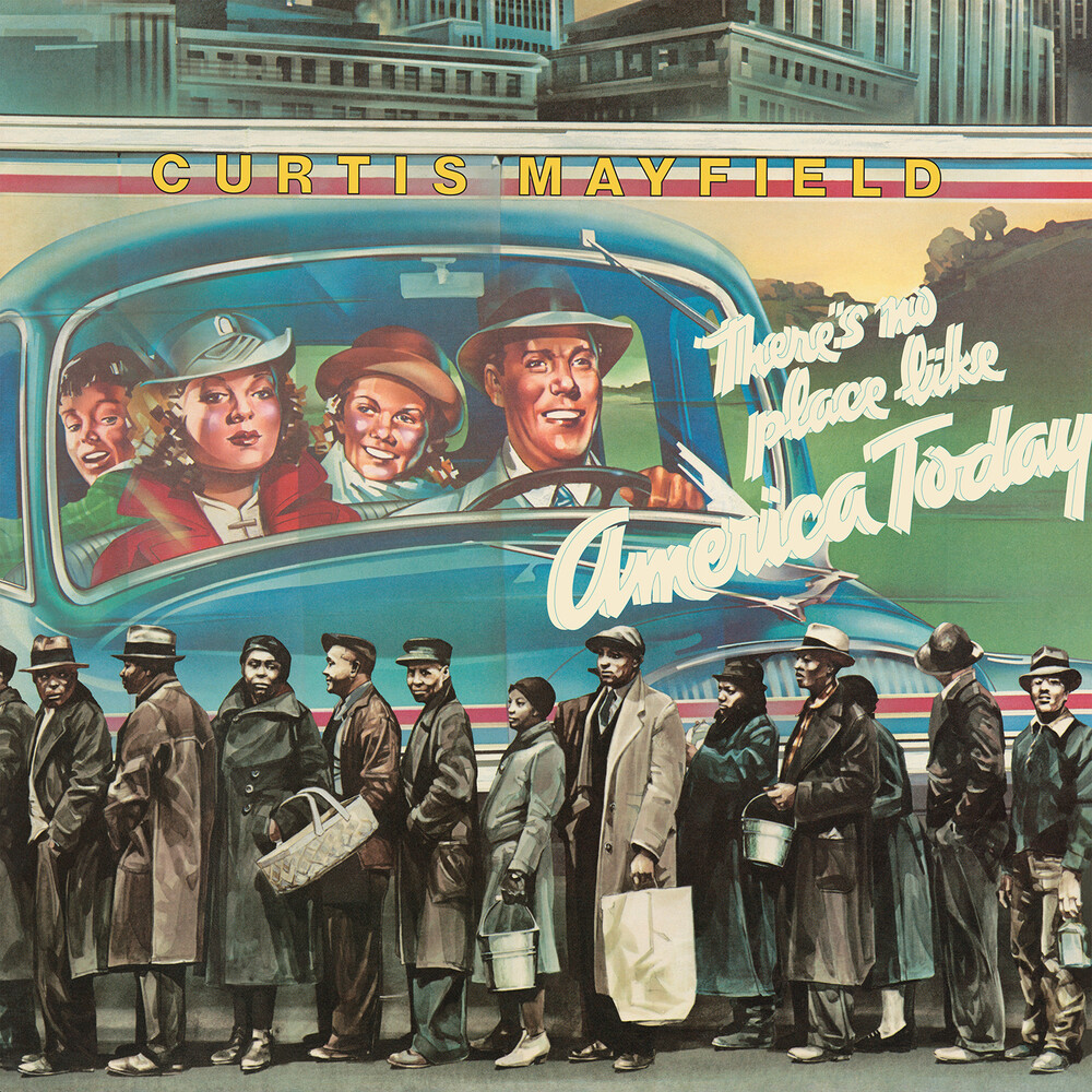 Curtis Mayfield - There's No Place Like America [Blue LP]