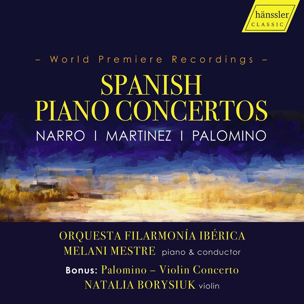 Martinez / Mestre - Spanish Piano Concertos