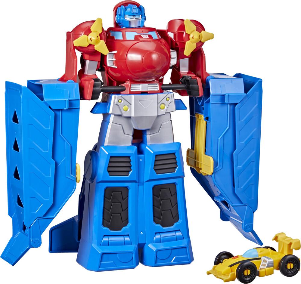 Tra Rba Jumbo Jet Wing Racer - Hasbro Collectibles - Transformers Rescue Bot Academy Jumbo Jet WingRacer