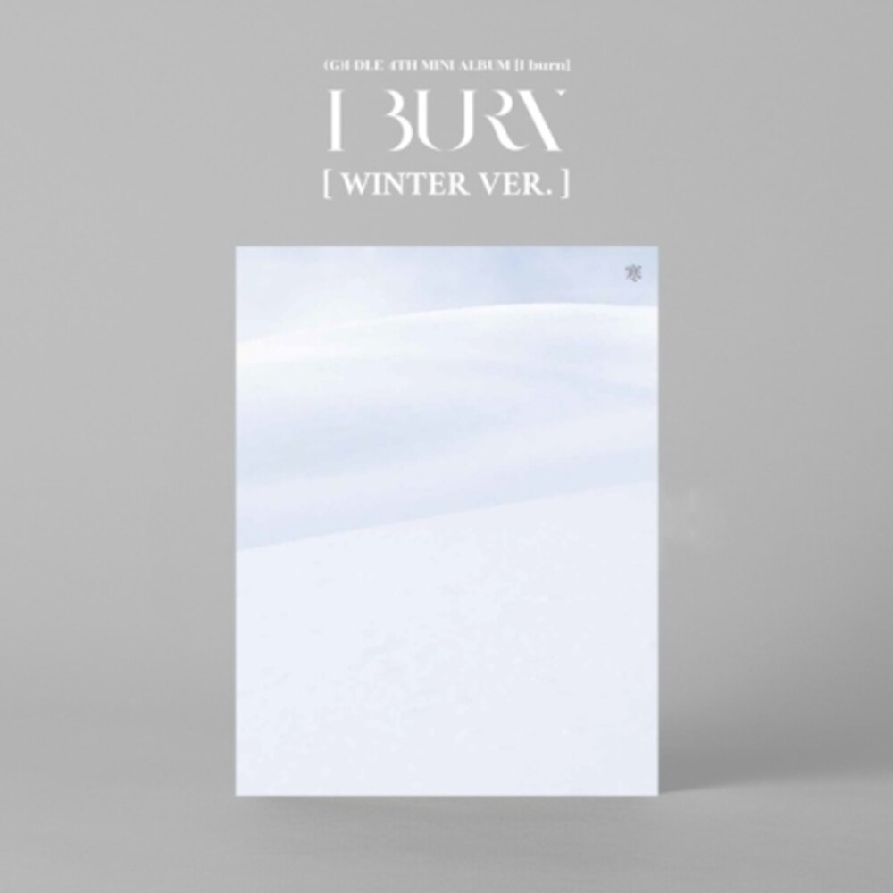 (G)I-DLE - I Burn (Winter Version) (incl. 96pg Booklet, Lyric Paper, Mini Poster, Postcard, Photocard + Lucky Card) [Import]