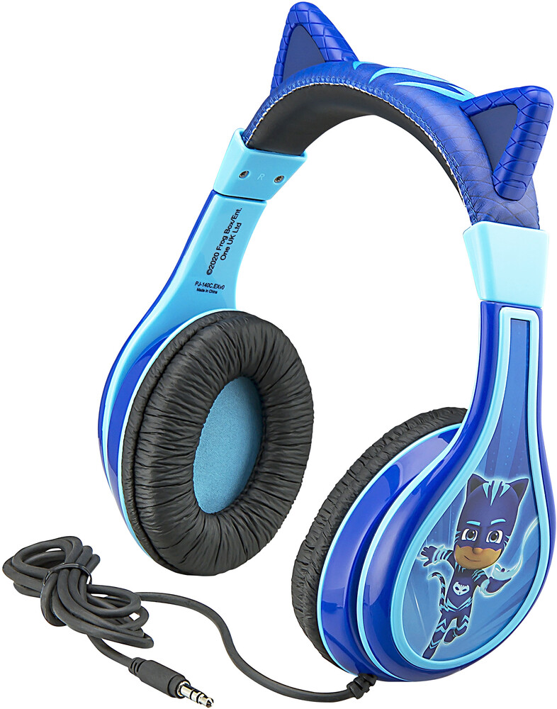 Pj Mask Pj-140C.Exv0 Catboy Yth Headphones Blue - PJ Mask PJ-140C.EXV0 Catboy Youth Headphones With Volume Limiting(Blue)