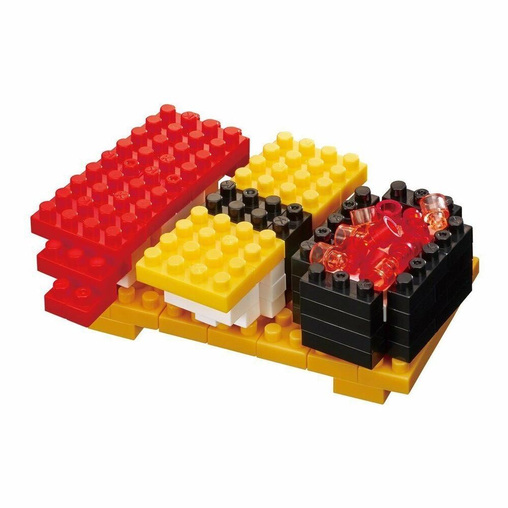 - Nanoblock Foods - Sushi, Nanoblock Collection Series (Box of 6)