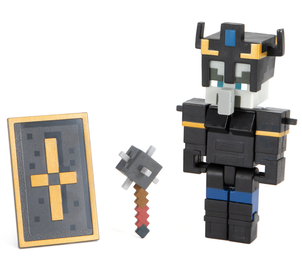 - Mattel Collectible - Minecraft Dungeons 3.25 Illager Royal Guard