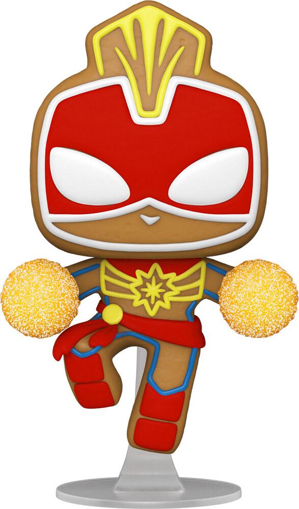 Funko Pop! Marvel: - Holiday- Captain Marvel (Vfig)