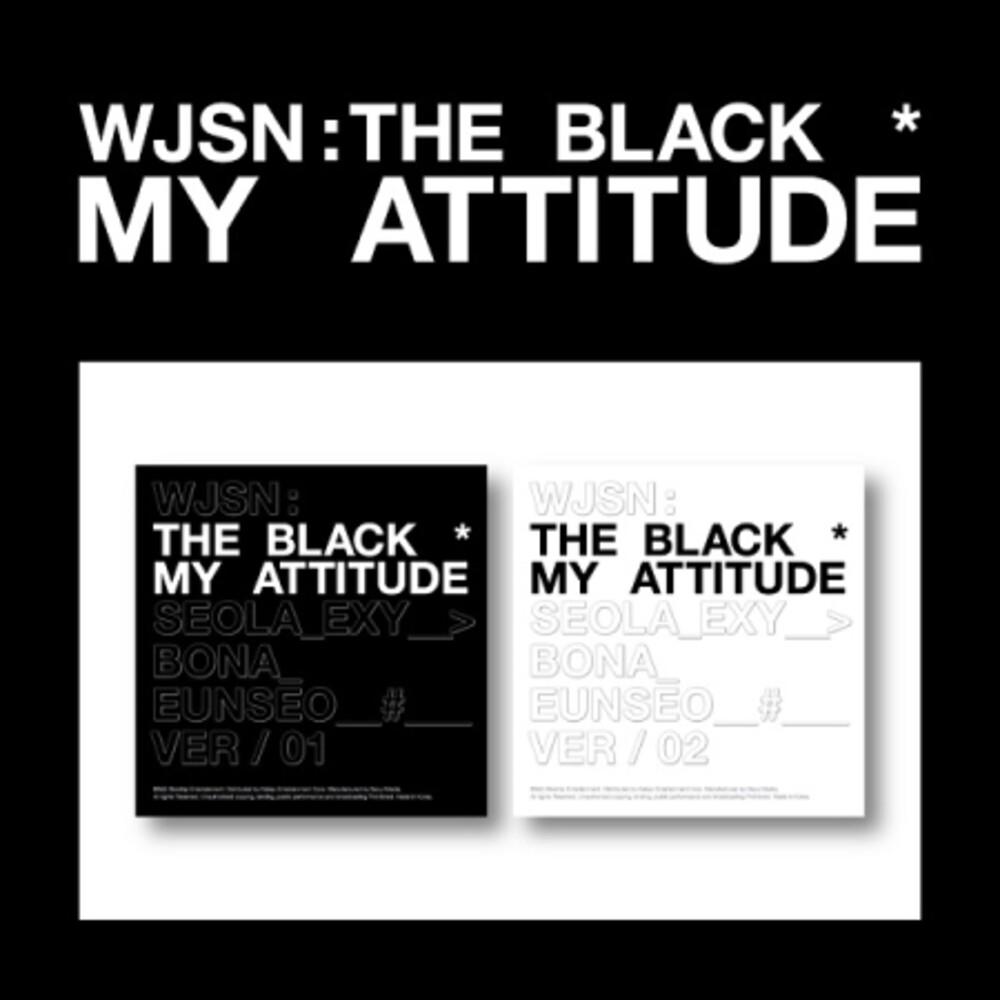 Wjsn: The Black - My Attitude (Stic) (Phob) (Phot) (Asia)